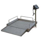 电子地磅 6毫米花纹面板电子地磅 可移动