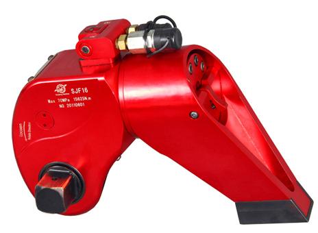sjf系列驱动式液压扳手图片