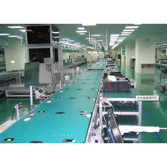 板链式装配流水线 特点:承载的产品比较重,和生产线同步运行,可以实现产品的爬坡;生产的节拍不是很快;以链板面作为承载,可以实现产品的平稳输送。 滚筒式流水线 特点:承载的产品类型广泛,所受限制少;与阻挡器配合使用,可以实现产品的连续、节拍运行以及积放的功能;采用顶升平移装置,可以实现产品的离线返修或检测而不影响整个流水线的运行。 皮带式流水线 特点:承载的产品比较轻,形状限制少;和生产线同步运行,可以实现产品的爬坡转向;以皮带作为载体和输送,可以实现产品的平稳输送,噪音小;可以实现轻型物料或产品较长距离