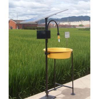 杀虫灯技术参数 太阳能板10w电压12v 蓄电池:12ah 功率8w全自动光雨控