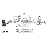 叶片开关LSA-10玩具机芯开关检测开关/限位开关