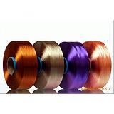 100D涤纶有光色丝 有色涤纶丝