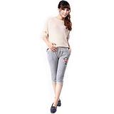 2013夏季新款 孕妇装 悠嘻猴七分打底裤 孕妇裤 托腹 多色可选