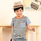 【包邮】欧臣2013新款男童T恤中大童童装厂家直销