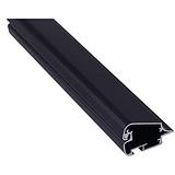 4公分单面黑色铝材