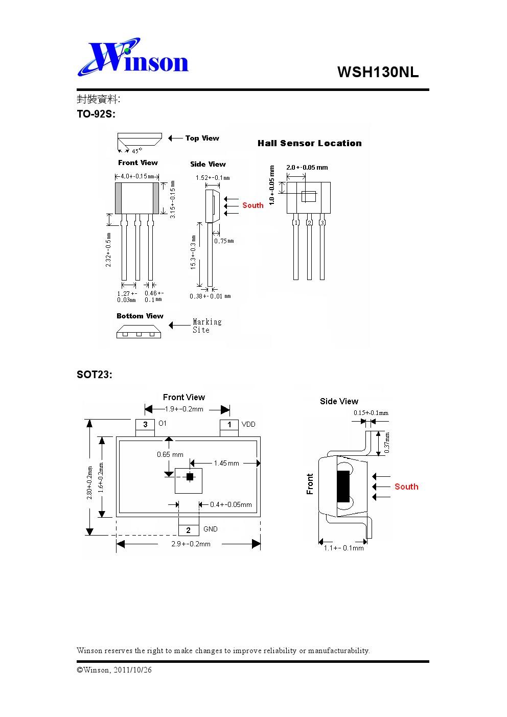 育升半导体股份有限公司成立于西元1998年11月,公司设立在台湾矽谷-新竹,是一家专业的积体电路设计公司。育升半导体目前主要是提供各种霍尔感应IC的解决方案,其主要应用于无刷马达、磁感开关,磁场量测以及 ...[详细]