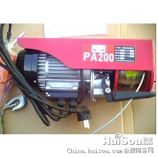 0.5吨微电葫芦 5吨跑车微型电动葫芦价格