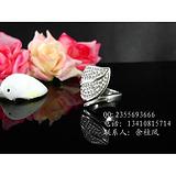 定做情侣戒指 纪念戒指定制 定做钛钢戒指 生日礼物 指环戒指