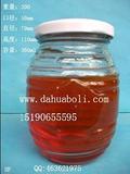 360ml蜂蜜玻璃瓶,徐州玻璃瓶价格,配套瓶盖