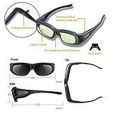 G05-A红外蓝牙全通用3D眼镜