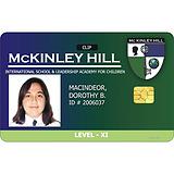 人像卡,芯片人像卡,员工卡,IC人像卡,IC员工证
