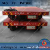 25T工程机械拖缆电动平板车配件