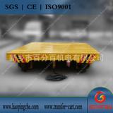 工程机械电动轨道平板车过跨平车