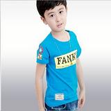 男童短袖T恤纯棉夏装2013新款男大童儿童T恤 韩版