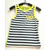 【芭比雪儿】批发2013新款夏装休闲条纹背心 babi-019款