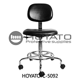 防静电 带轮升降椅 靠背电脑椅 五星脚升降椅 带脚轮办公转椅
