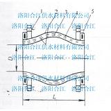 供应GJQ(X)-DF-II单球体可曲挠橡胶接头