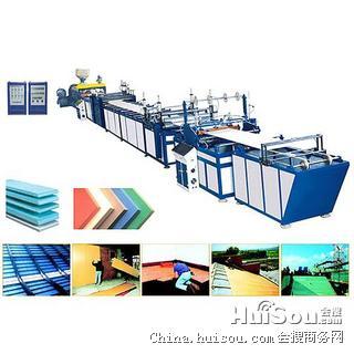 直供沈阳XPS聚苯乙烯发泡板材挤出生产线