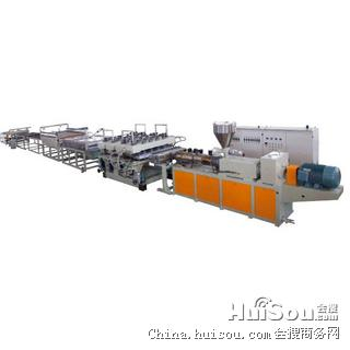 供应沈阳PVC窗台门板生产线