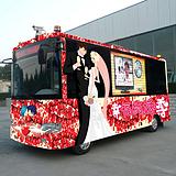 流动影楼接单车,婚纱摄影宣传必备利器