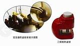 供应新型变压器防盗锁、三保险防盗锁、梅花变压器防盗锁