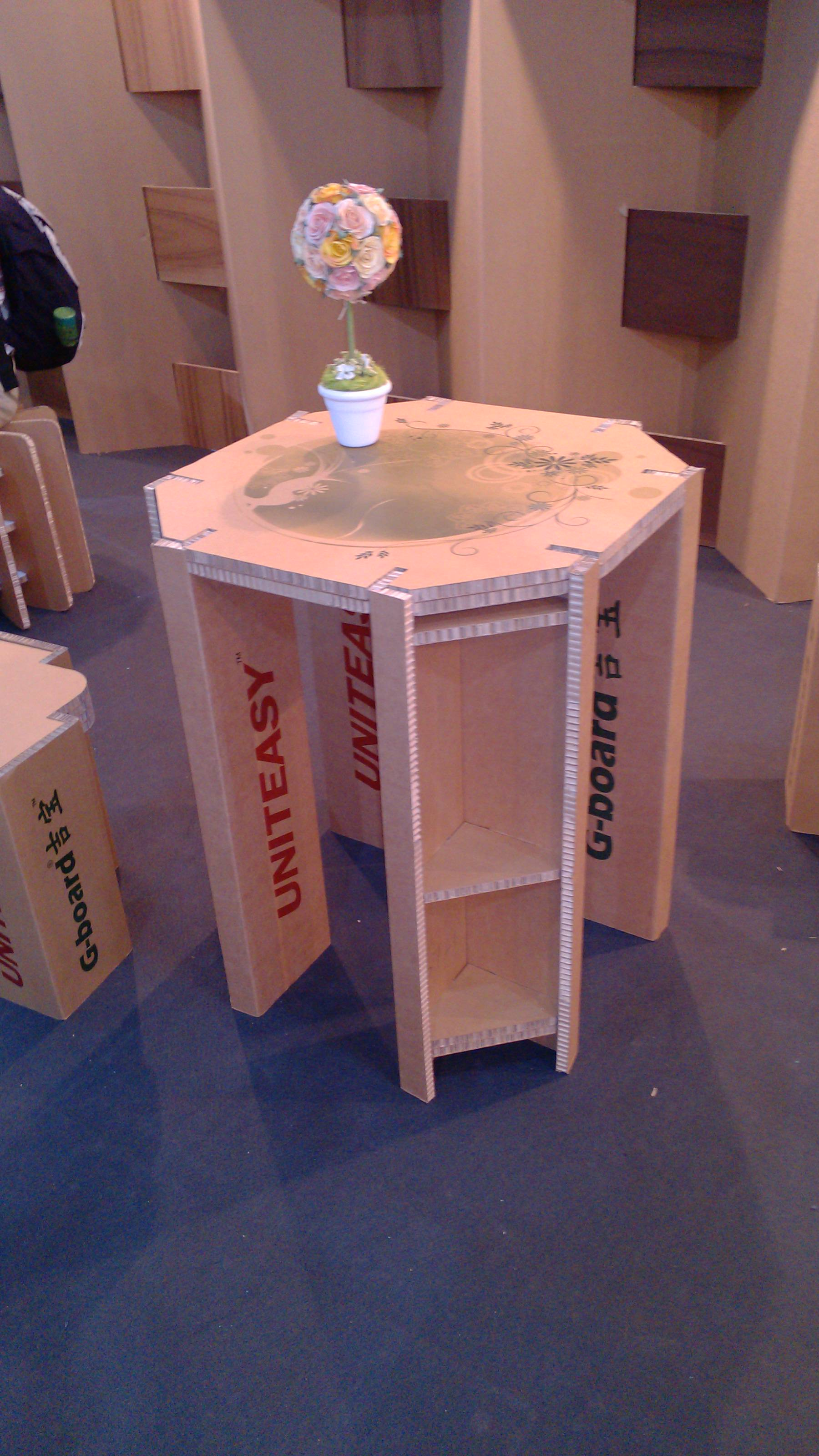 纸箱做桌子步骤图