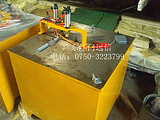 供应天津橱柜门晶钢门45度90度台式精准铝材切割机