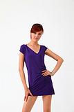 2013秋季新款女士休闲裙 珍珠纤维天然润肤裙 吸湿透气健康连衣