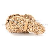 蜡绳、pu合成编织腰带 女装配带