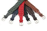 编织腰带 韩版百搭 女士腰带 装饰宽腰封 经典针扣