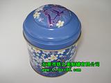 圆形荼叶铁盒,圆形荼叶铁罐 现成模具荼叶罐