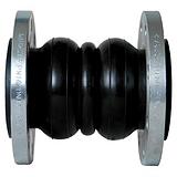 莱西市生产厂家供应优质法兰式耐油橡胶接头规格|价格