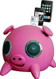 iphone太空猪音响 猪头音响 触摸音箱 家居音箱