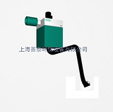 固定式单臂筒式烟尘净化器