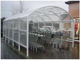 长期供应公交站台顶棚采光专用阳光板|自行车棚专用阳光板