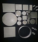 供应各种形状尺寸的不锈钢过滤网片烧结网片