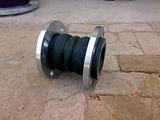 大庆市橡胶软接头型号|双球法兰式橡胶接头规格13525529