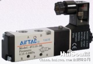 台湾亚德客电磁阀4M110-10-AC220V-I