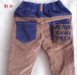 13 秋款上新 韩版男女童裤 牛仔裤 可可一派厂家直销