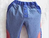 2013  秋款童装 时尚潮流韩版裤子 可可一派男女童牛仔裤厂家