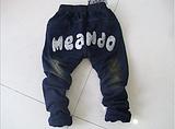 2013秋款童装 时尚潮流韩版裤子 可可一派男女童牛仔裤厂家直供