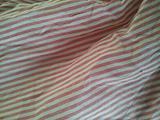 红色条纹图案面料