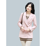 古路时装【GUCIUME】品牌女装加盟粉红色短款女士小西装