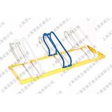 螺旋式自行车停车架 高低不锈钢自行车停车架 自行车停车架图片