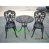 供应铸铝家具,铸铝一桌两椅,小蝴蝶一桌两椅