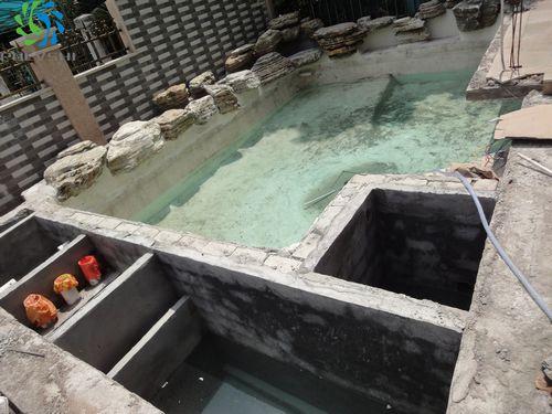 碧桂园别墅鱼池设计与景观水处理工程