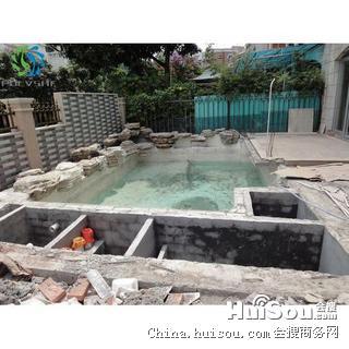 品价格 碧桂园别墅鱼池设计与景观水处理工程批发价格 佛山市