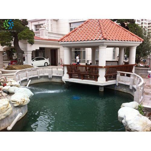 别墅景观鱼池设计与景观水处理工程