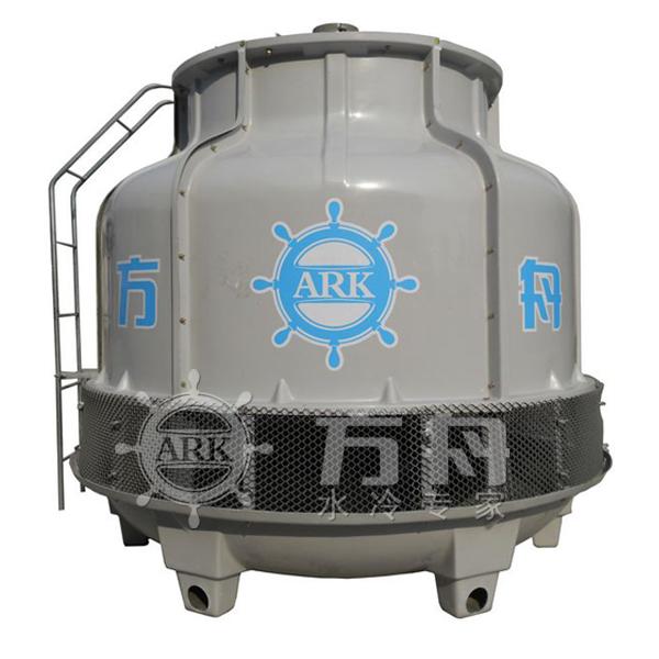 机械及行业设备 制冷设备 圆形开式冷却塔  冷却塔结构特点 &nbsp