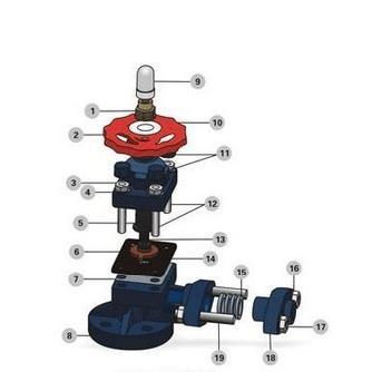 rpp塑料考克,pp法兰考克阀,pvc塑料液位计考克图片
